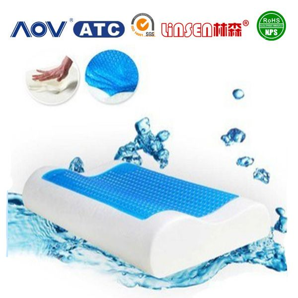 Memory foam pillow factory cheap ice gel hydrogel cooling pillows, View hydrogel cooling pillows, Linsen Product Details from Guangzhou Linsen Foam Products Co., Ltd. on Alibaba.com