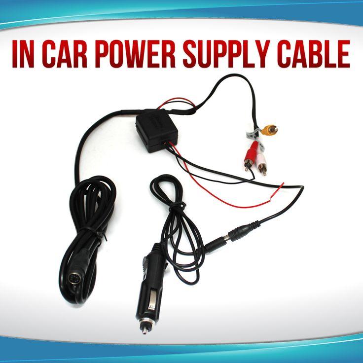 Car Cigarette Lighter Charger Power Supply for Headrest DVD Player