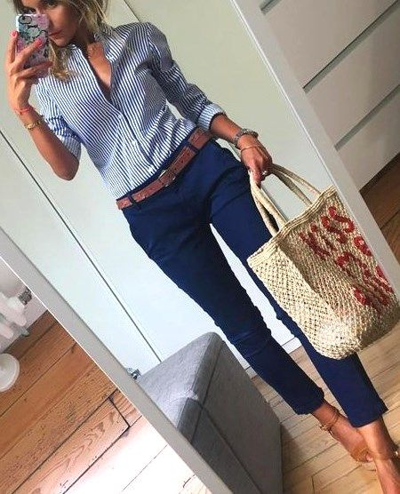 30 casual blue outfits