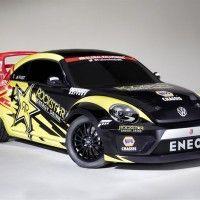 Beetle klar for Rallycross baner rundt om..