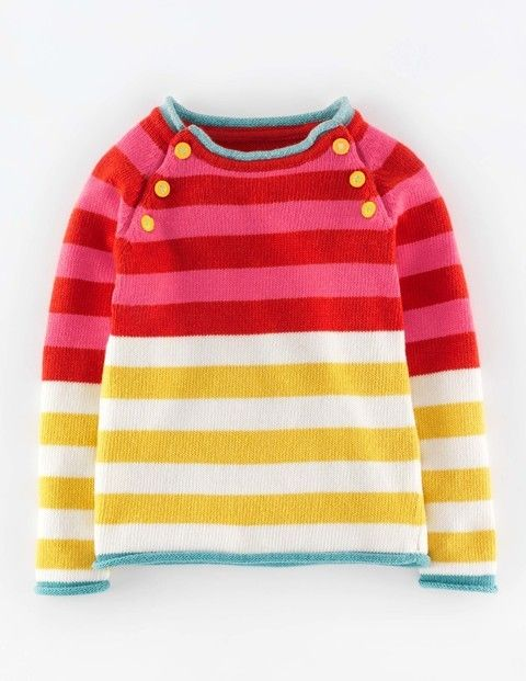 Stripy Festive Sweater