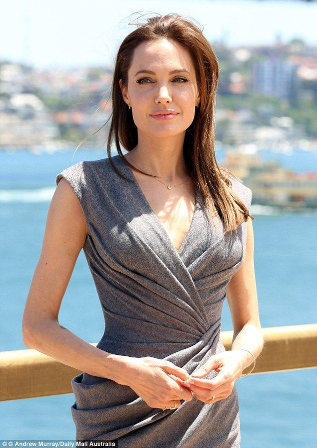Angelina Jolie delivers emotional speech about her 'great man' husband Brad Pitt revealing...