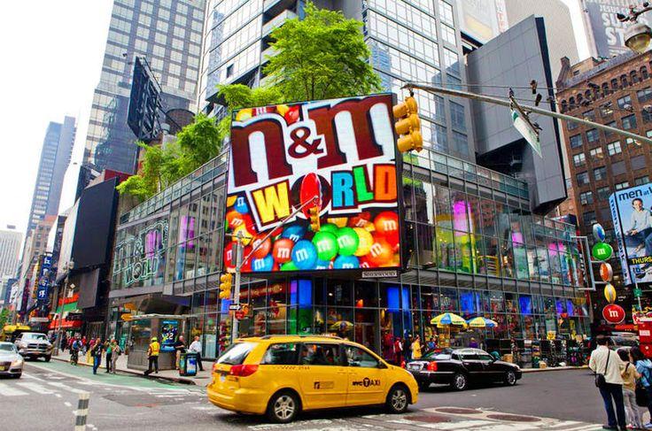 Lojas que são pontos turísticos em NYC