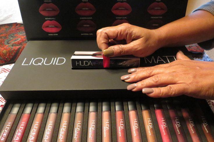 HUDA BEAUTY LIQUID MATTE LIPSTICK DELUXE SET --100% Authentic #HudaBeauty