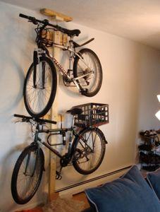 40 best bike storage images on pinterest bike storage garage diy bike rack revisited solutioingenieria Images