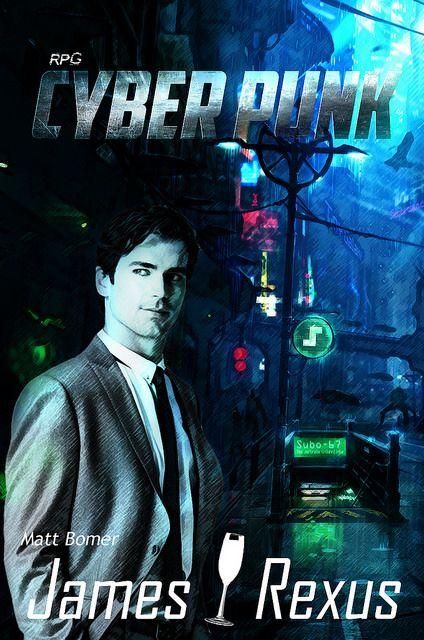 NerdCast RPG CyberPunk James Rexus