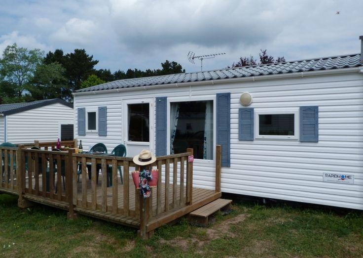 Mobil-Home START FAMILY - 4/6 personnes - Camping Domaine de Bréhadour