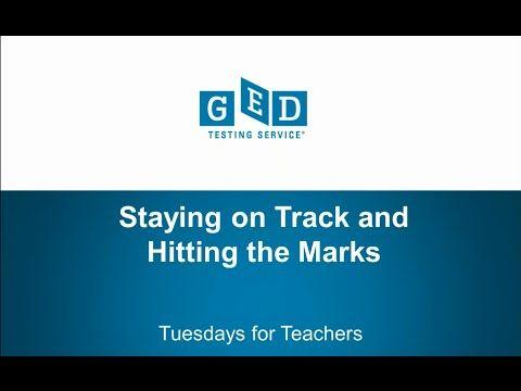 Beautiful Tuesdays for Teachers Webinar Series Staying on Track u Hitting the Marks