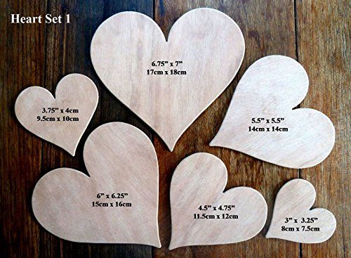 Fantastic Set Of 6 Different, Larger Sized Hand Crafted MDF 'Heart' Drawing Templates (Set 1) by Greg Ledder http://www.amazon.co.uk/dp/B00K81STI6/ref=cm_sw_r_pi_dp_eTs4vb09NT3K3