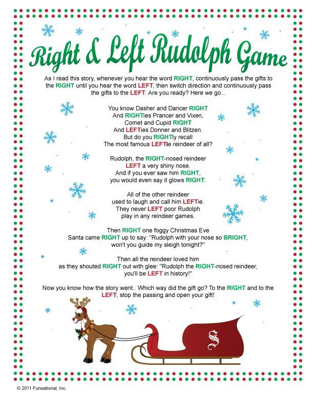 Best 25+ Left right christmas game ideas on Pinterest | Christmas ...