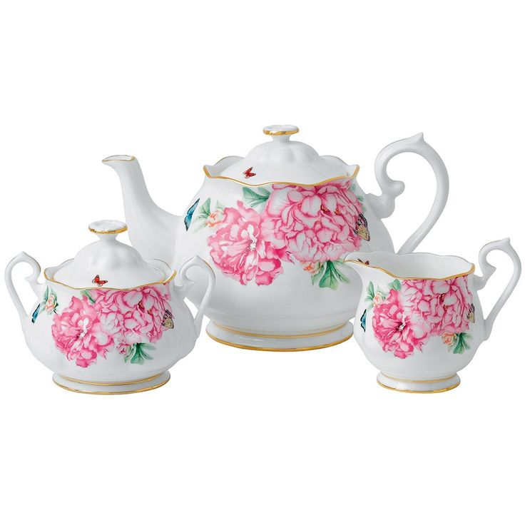 Miranda Kerr Teapot, Sugar, Cream - Friendship