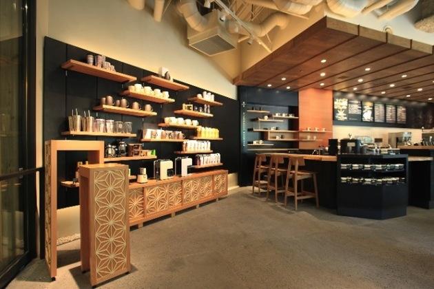 スターバックス コーヒー 目黒店の店内