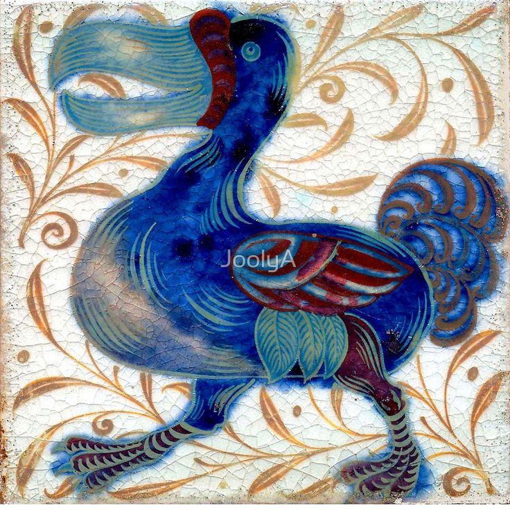 William De Morgan The Dodo