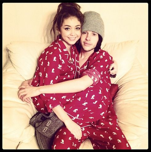 【ELLEgirl】サラ・ハイランド&マット・プロコップ|クリスマスはLet's パジャマ☆パーティ!|エル・ガール・オンライン