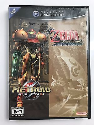 Metroid Prime & The Legend of Zelda: The Wind Waker GameCube Dual-Pack Complete