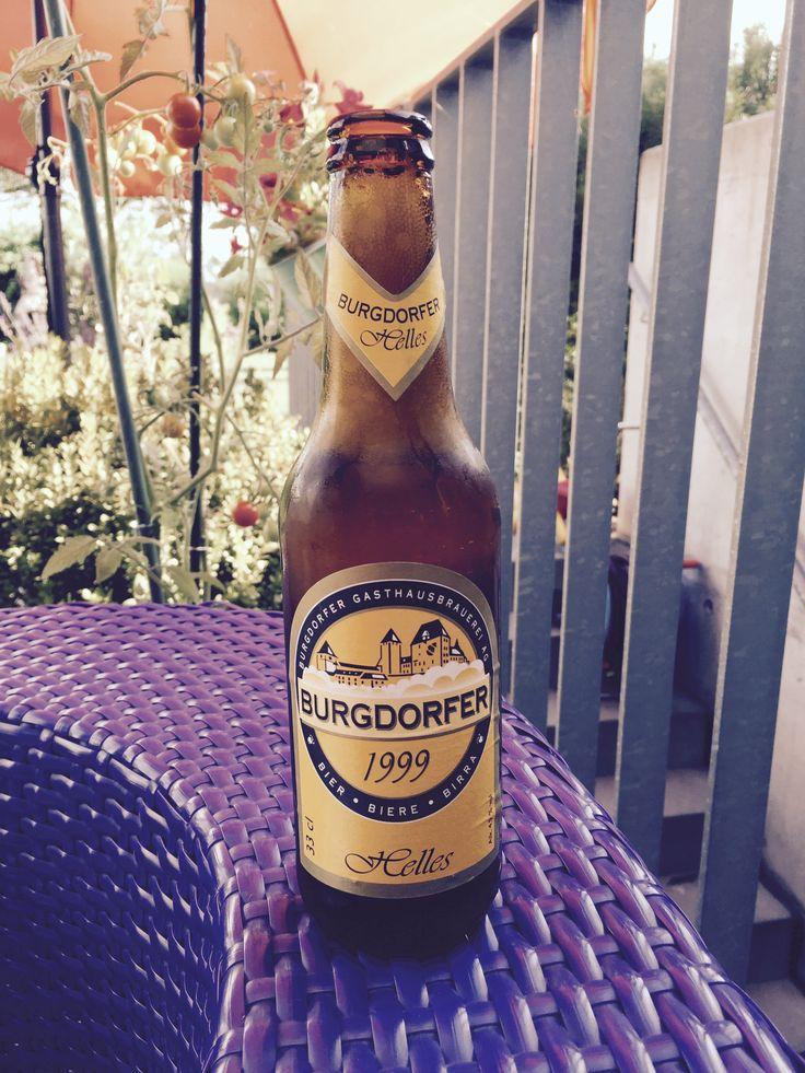 Burgdorfer Helles, Home, Juli 2016 #Bier #Biergarten #Durst #Prost