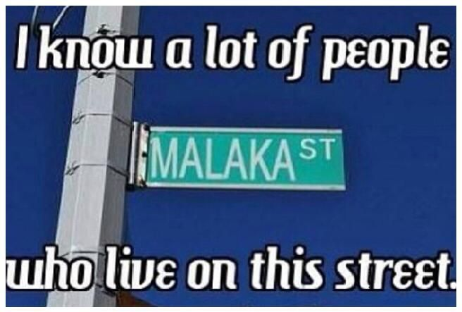 I know a lot of people on this street!