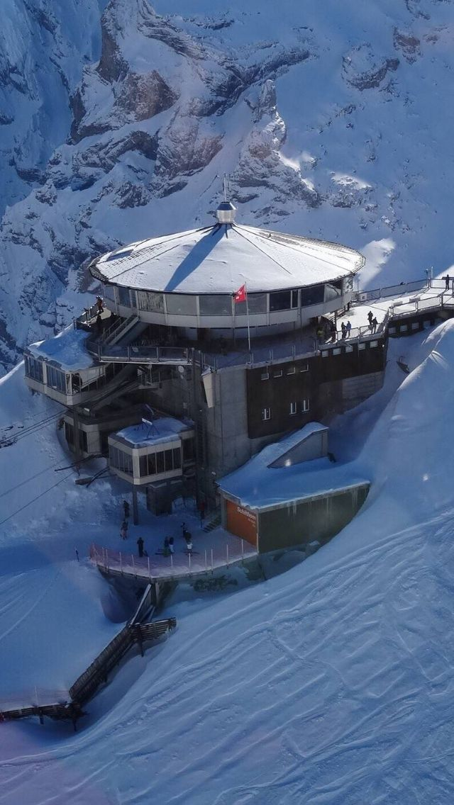 "Schilthorn ""Piz Gloria"" location of James Bond movie."