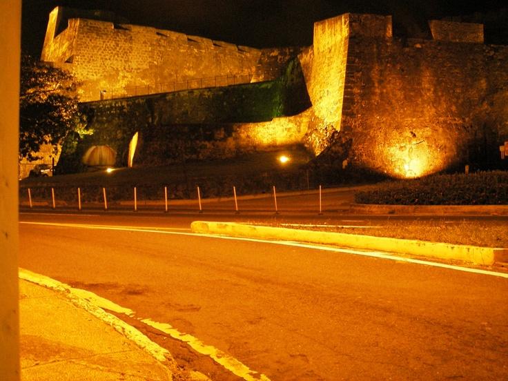 San Cristobol Castle in old San Juan