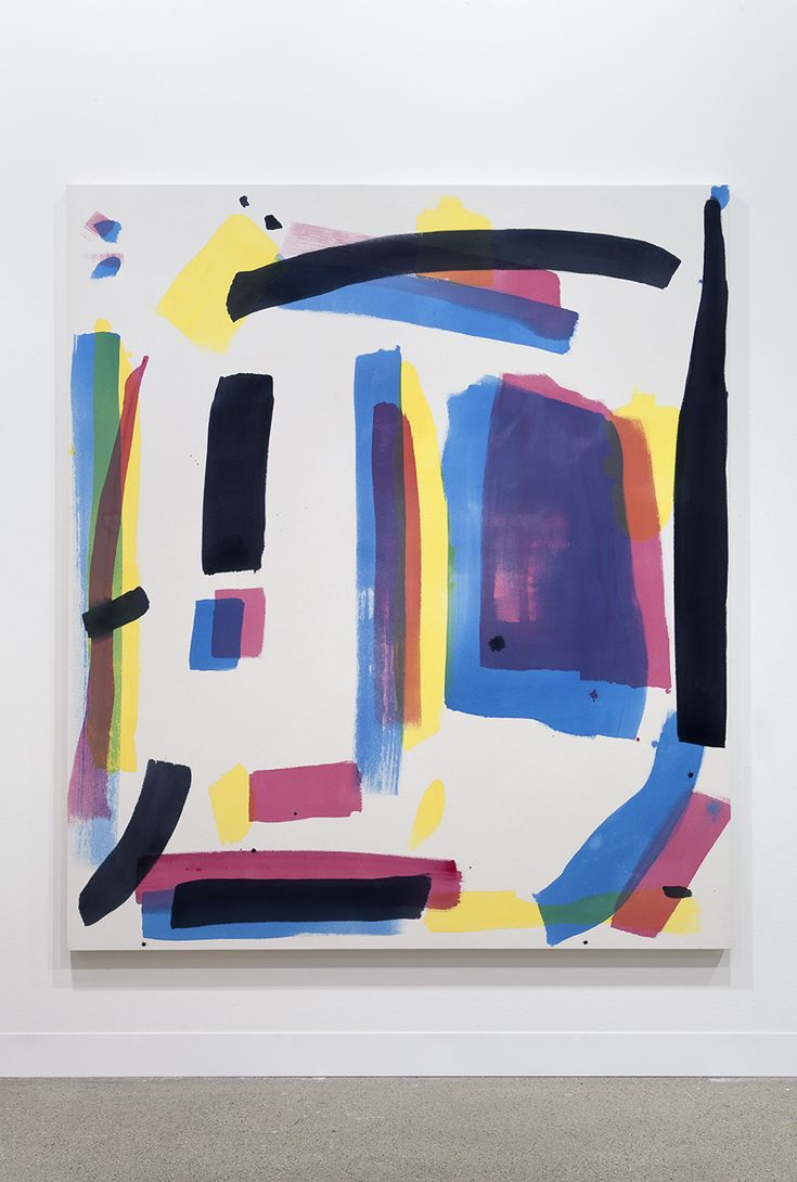 Matt Connors | Reader 2014 Acrylic on canvas 177.8 x 152.4 in / 70 x 60 in