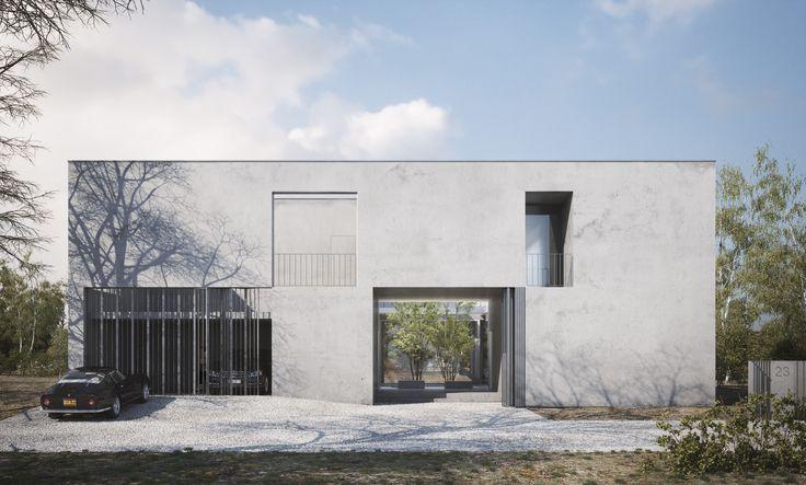 modern house exterior visualization / DAAKO studio