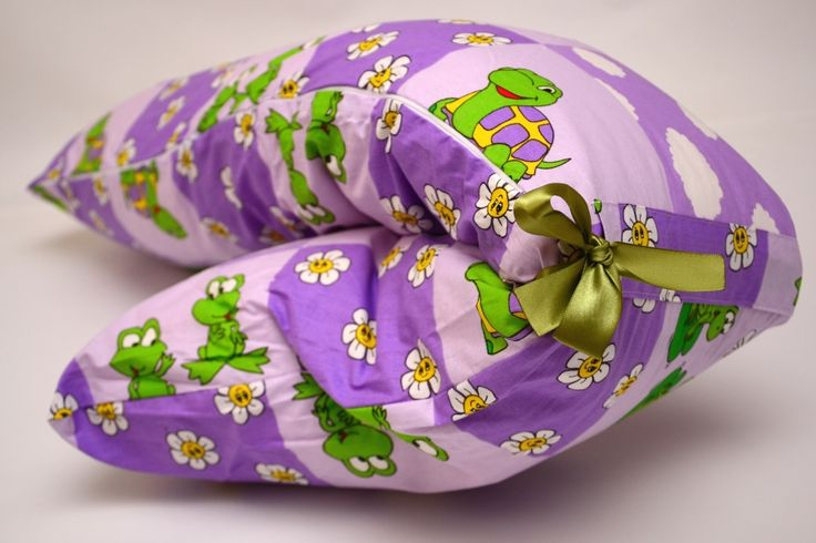 pregnancy and relaxing pillow Bastonas - tortoise on mouve theme - more details on www.pernegravide.ro