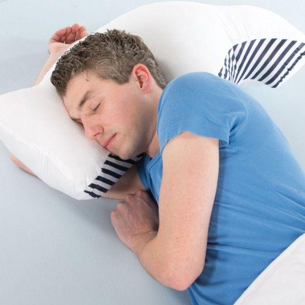 Anti-Schnarch Kissen »Sona-Pillow ® «: Für eine natürliche und bequeme Schlafposition in Seitenlage!