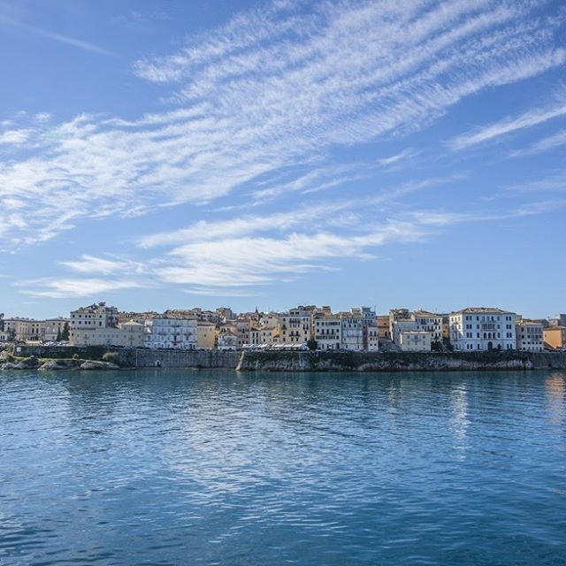 Corfu, Greece #Greece #sea #travel  #kerkyra #island #love #corfutown  #happy #instagreece #instatravel  #instagood #travelgram #korfu #nature #beautiful #ig_greece  #corfuisland #sky#corfu