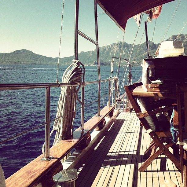 A summer on boat- 08/13