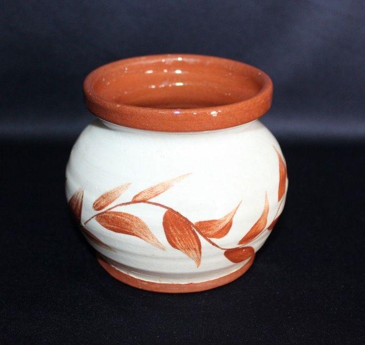 Fantastic Hand Built QUAYSIDE Pottery Pot  #MODERN