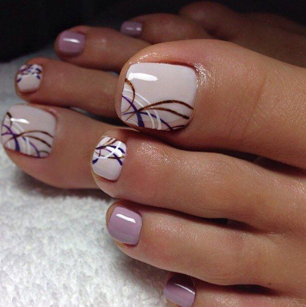 Black Nail Polish Foot: 25+ Best Ideas About Toe Nail Art On Pinterest