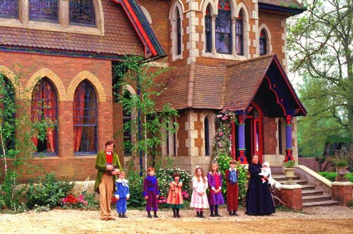 Nanny McPhee House | The Brown's home ,Favorite home From this Film Nanny Mcphee