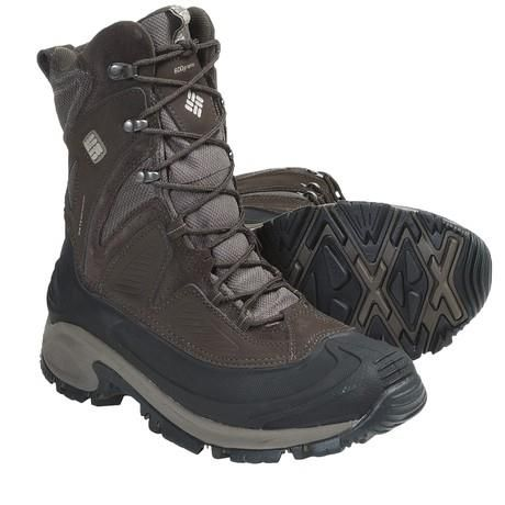 Посоветуйте тёплую мужскую обувь