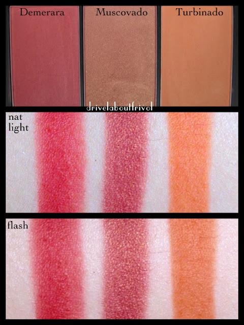 Sleek blush by 3 - 364 Sugar (Demerara, Muscovado, Turbinado) Swatch