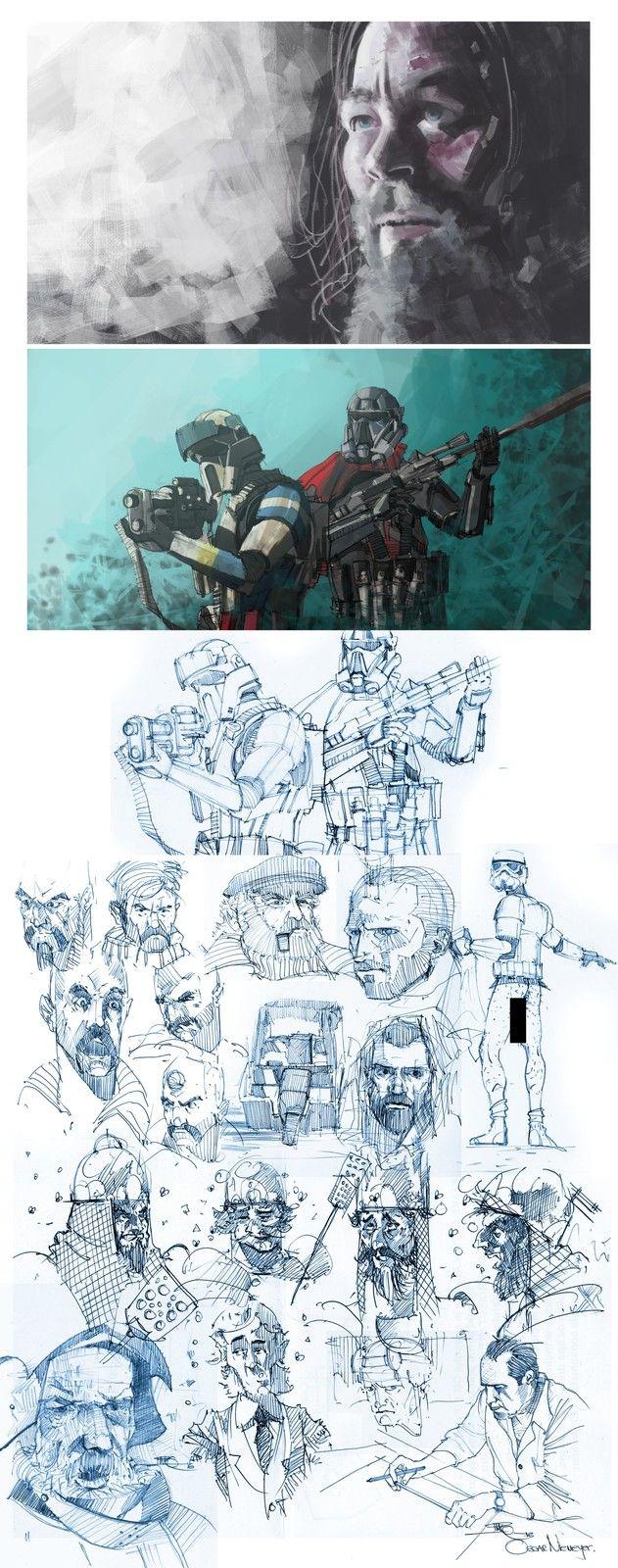 New Sketching session, Marko Pudar on ArtStation at https://www.artstation.com/artwork/VYXdX