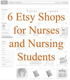 6 Etsy Shops for Nurses and Nursing Students | best stuff