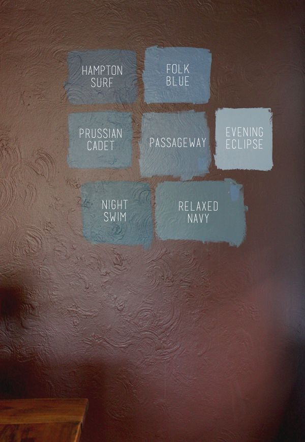 valspar blue-grey paint color options // coco+kelley