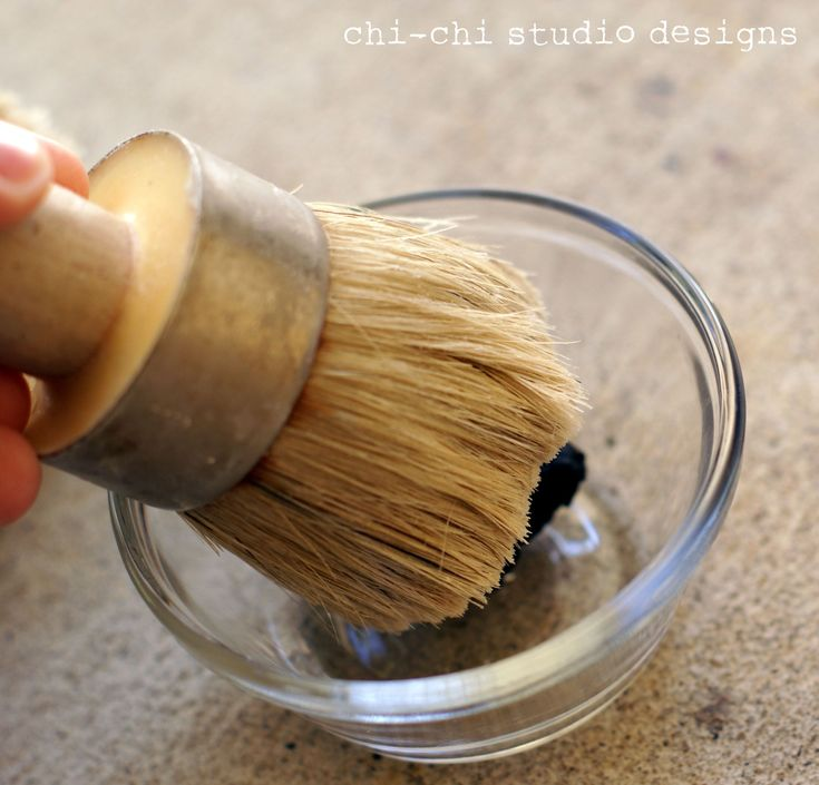 Dark Wax Tutorial 5 - great tip for mixing the dark wax with clear wax while applying. Sounds much easier to control the intensity.