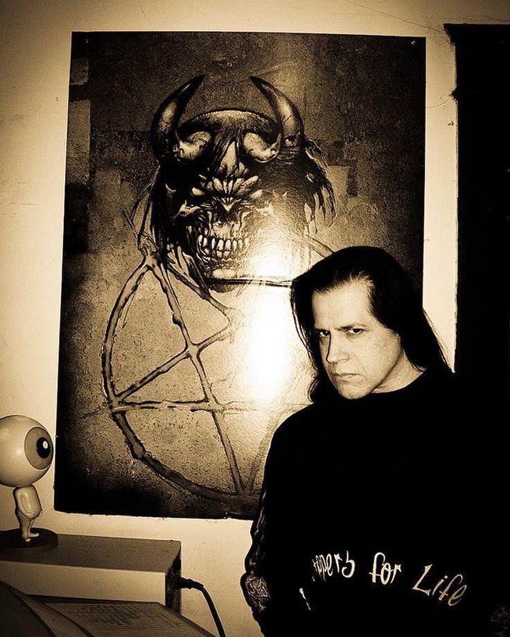 Glenn Danzig at the Evilive/Verotik office back in January 2004.