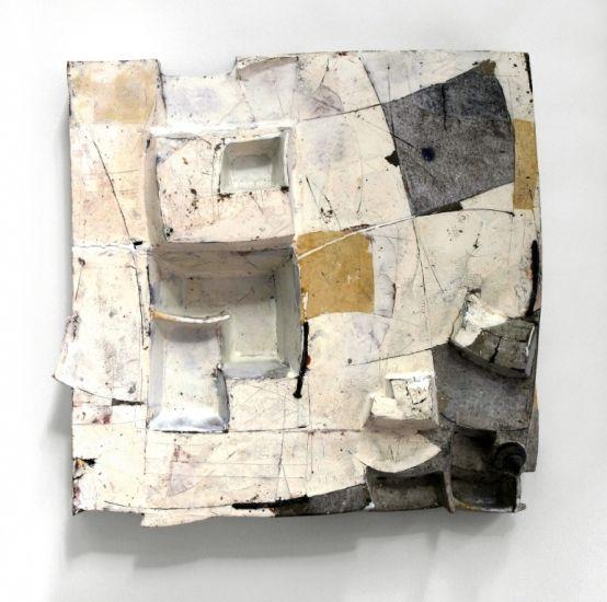 Renée Reichenbach - Landschaft mit Amphora, 2004, 45x45x14cm, Foto: Nicola Rehage wall art