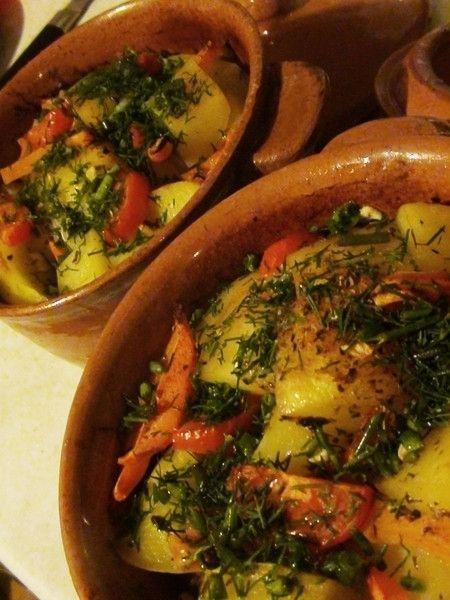 Рагу с курицей и овощами в горшочке - пошаговый рецепт с фото: Аппетитно, вкусно, красиво. Идеальное блюдо для воскресного семейного обеда. - Леди Mail.Ru
