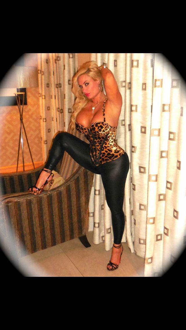 Animal print corset + lame leggings = licious | Nicole ...