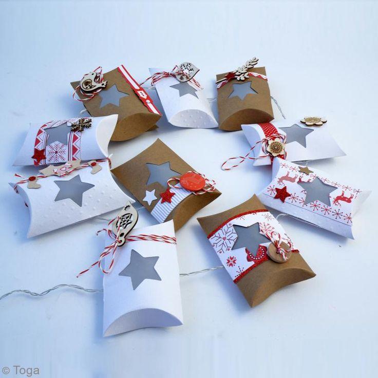 Bricolage Noël : Guirlande surprise de pochettes kraft - Idées et conseils Noël traditionnel