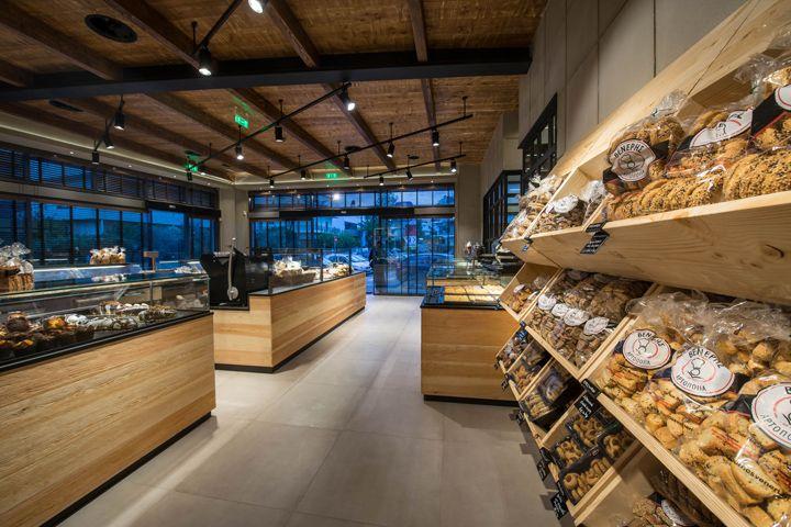 Очаровательный интерьер булочной-пекарни