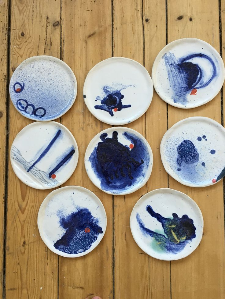 Ceramic Plate by Mette Bager