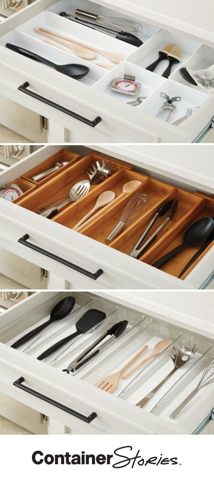 609 best Kitchen Organization images on Pinterest | Organizations ...