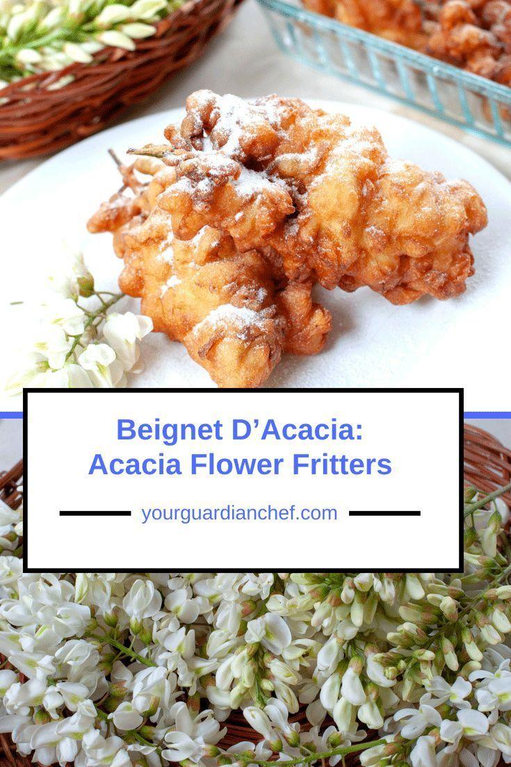 Beignet Dacacia Acacia Fritters Recipe French Inspired Recipe
