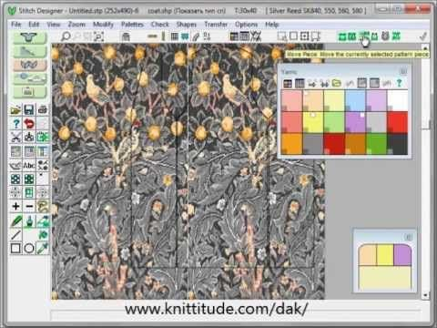 DesignaKnit 8 Graphics Studio Tutorial - Converting Large Multicolored Designs