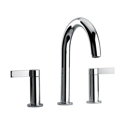 Jewel Faucets 1410 J14 Bath Series 2 Lever Handle Roman Tub Faucet with Classic Spout