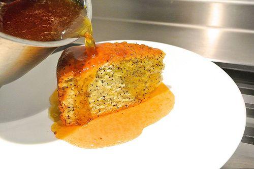 Poppy seeds cake